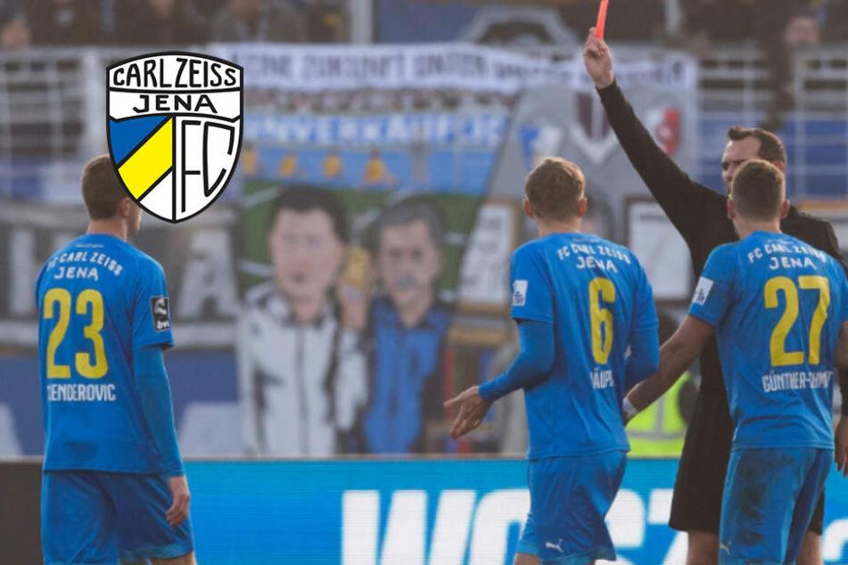 Carl Zeiss Jena verliert gegen den Vorletzten und bleibt Schlusslicht