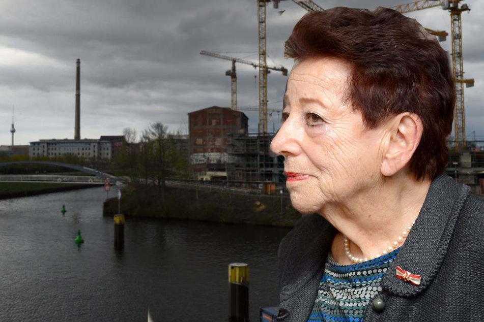Die Schriftstellerin und Überlebende des Holocaust Ingeborg Deutschkron wird zur Eröffnung erwartet.