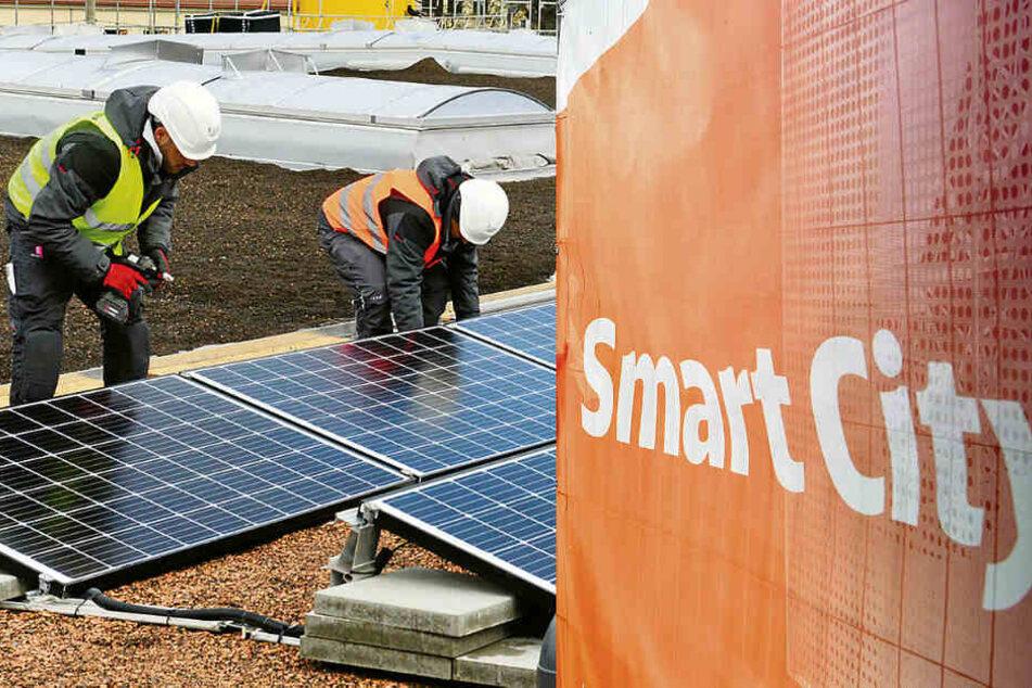"""Schwarmkraftwerke und Klimacoaching! Sachsens Städte möchten """"smarter"""" werden"""