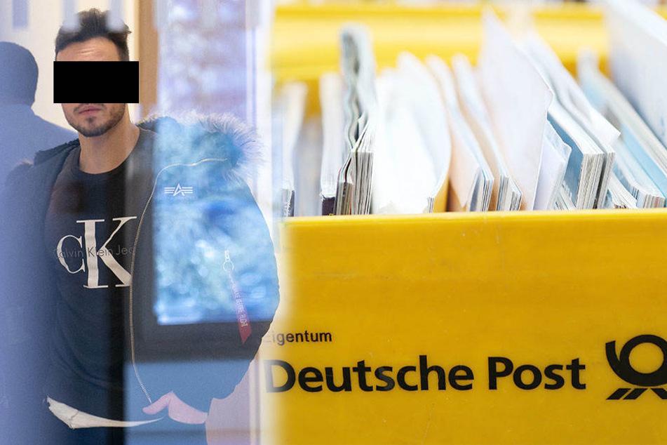 Überforderter Postbote ließ Hunderte Briefe verschwinden