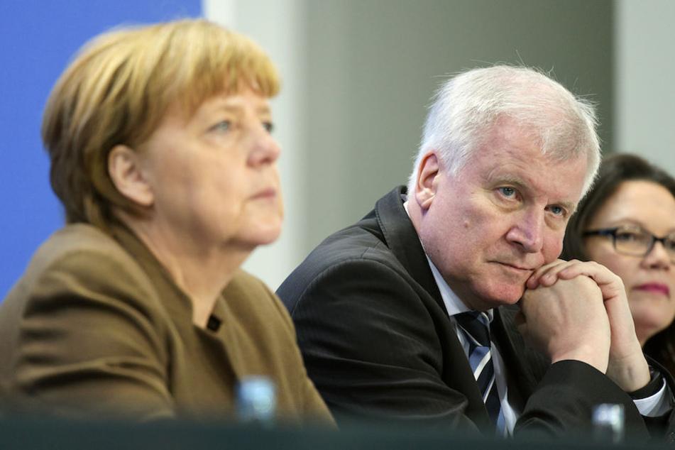 Kanzlerin Angela Merkel (63, CDU), CSU-Chef Horst Seehofer (68) und die SPD-Vorsitzende Andrea Nahles (48) haben derzeit nur wenig zu Lachen.