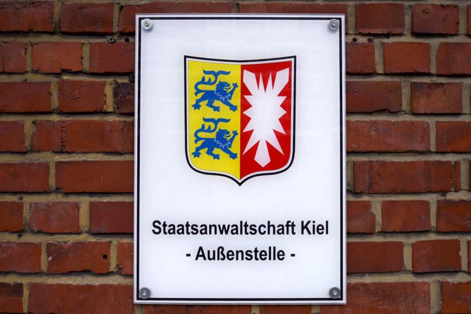 Das Schild an der Außenstelle der Staatsanwaltschaft.