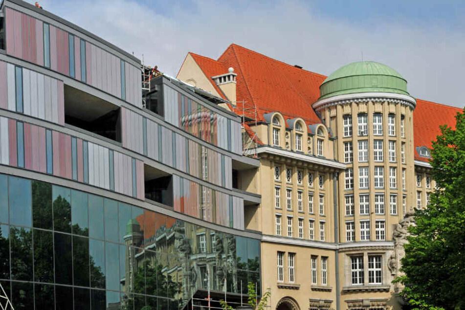 Die Deutsche Nationalbibliothek in Leipzig.
