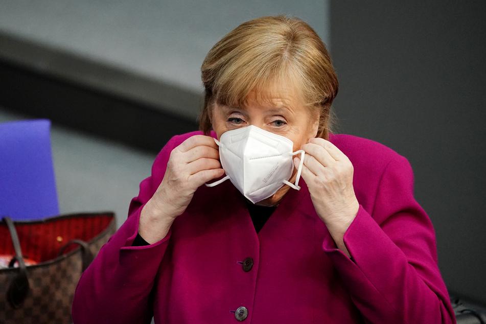 """Angela Merkel (66, CDU) ist sich sicher: """"Wir werden dieses Virus besiegen!"""""""