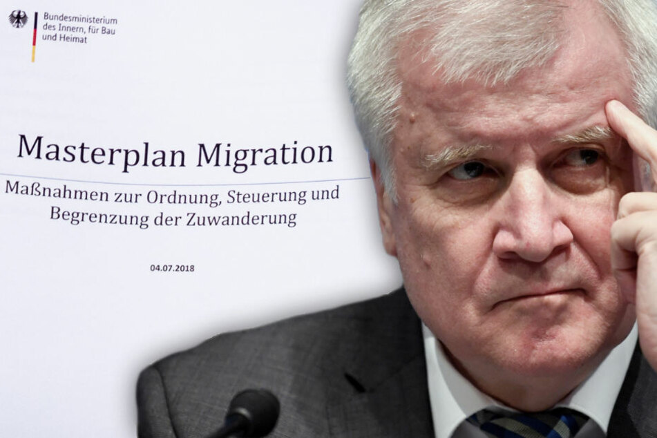 Hat Seehofer mit seinem Vorstoß in der Asylpolitik nun auch die eigenen Reihen gegen sich aufgebracht? (Bildmontage)