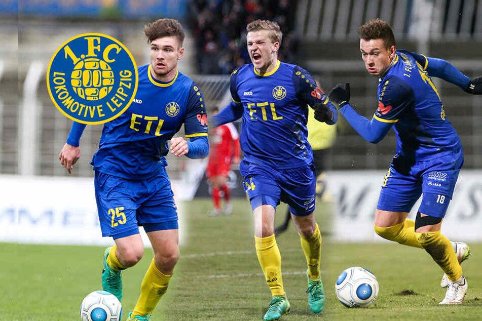 Lok Leipzig will mit diesem Trio verlängern