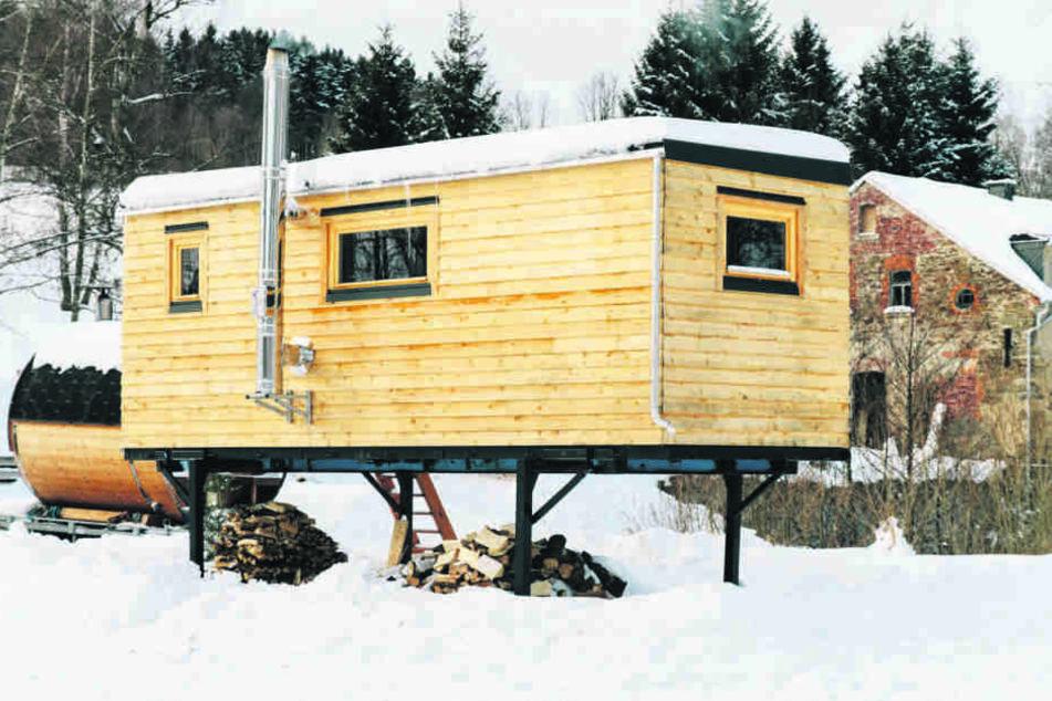 16 Quadratmeter Wohnraum auf vier Stelzen: Mobile Tiny Houses sind eine immer beliebtere Alternative zur Mietwohnung in der Stadt.