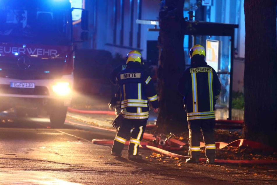 Die Feuerwehr konnte die anderen Hausbewohner retten.