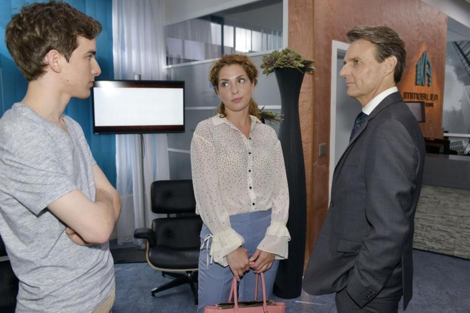Nina und Luis Ahrens werden nach ihrem Umzug in Gerners Firma arbeiten.