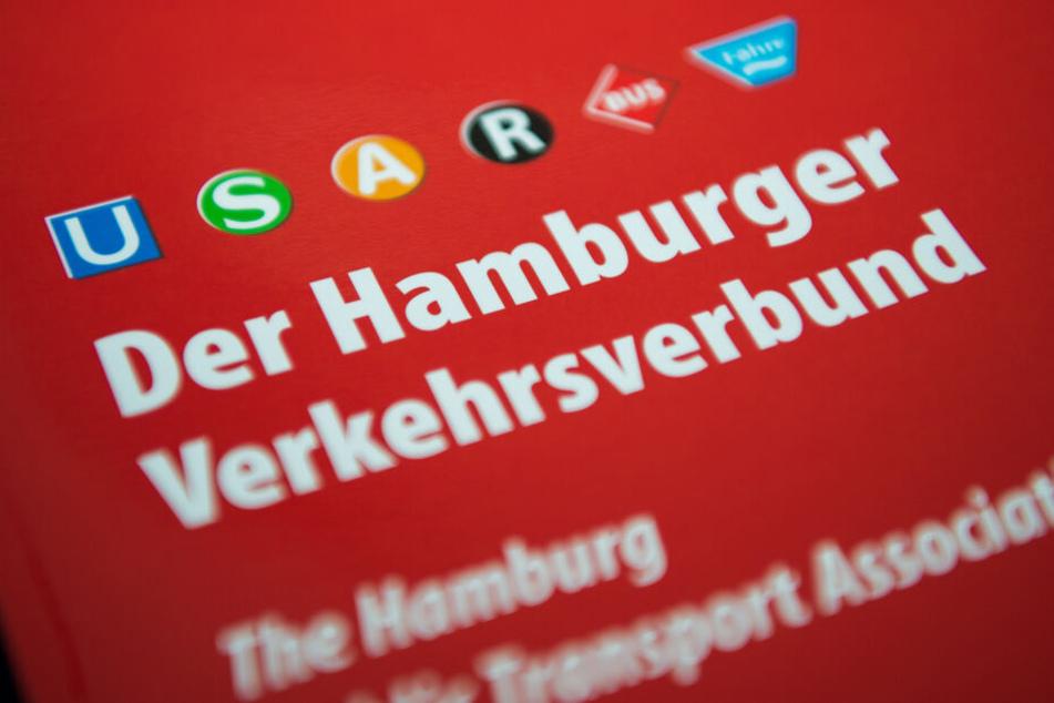 Eine Broschüre des Hamburger Verkehrsverbunds, kurz HVV.