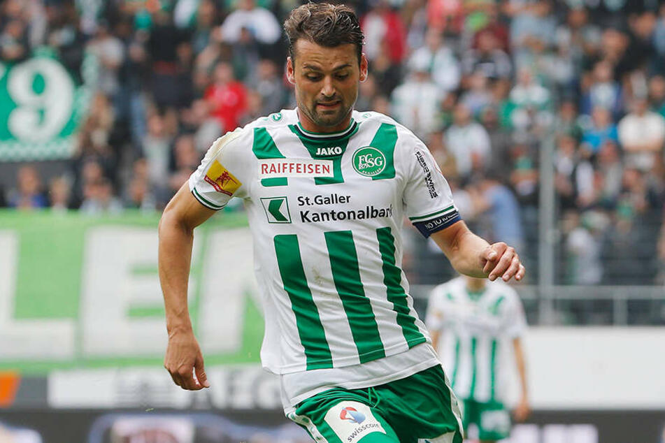 Albert Bunjaku stürmt künftig für den FC Erzgebirge.