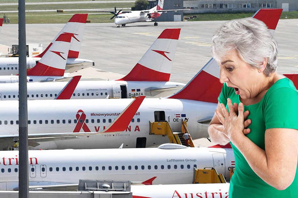 Einige Passagiere klagten über Sauerstoffmangel und Schwindel.