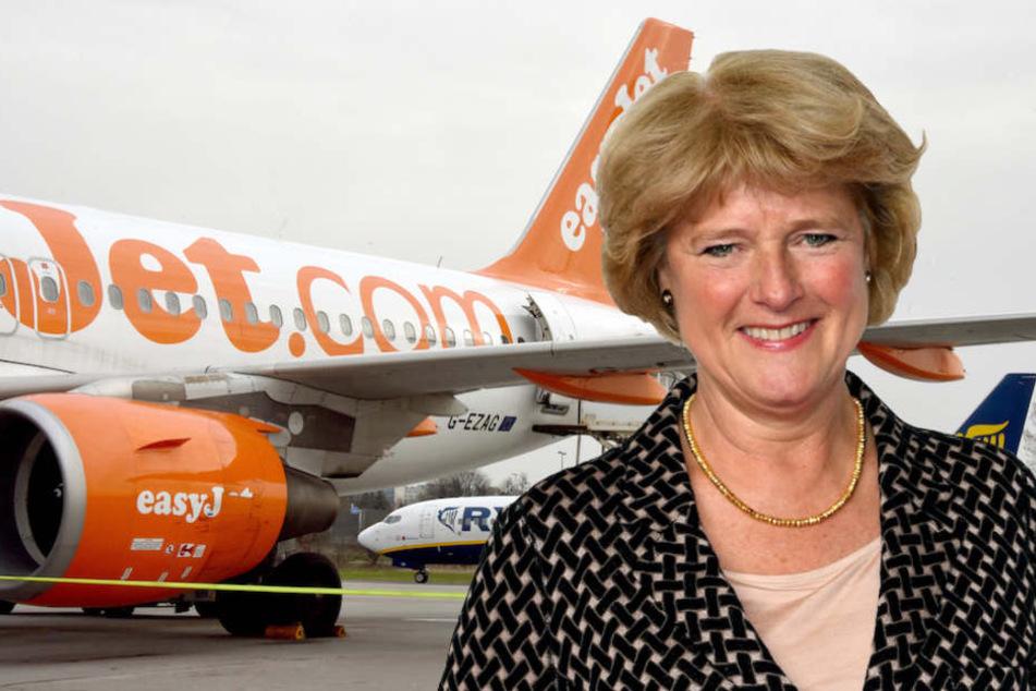 Kulturstaatsministerin Monika Grütters (56, CDU) begeistert mit ihrer Sparsamkeit. (Bildmontage)