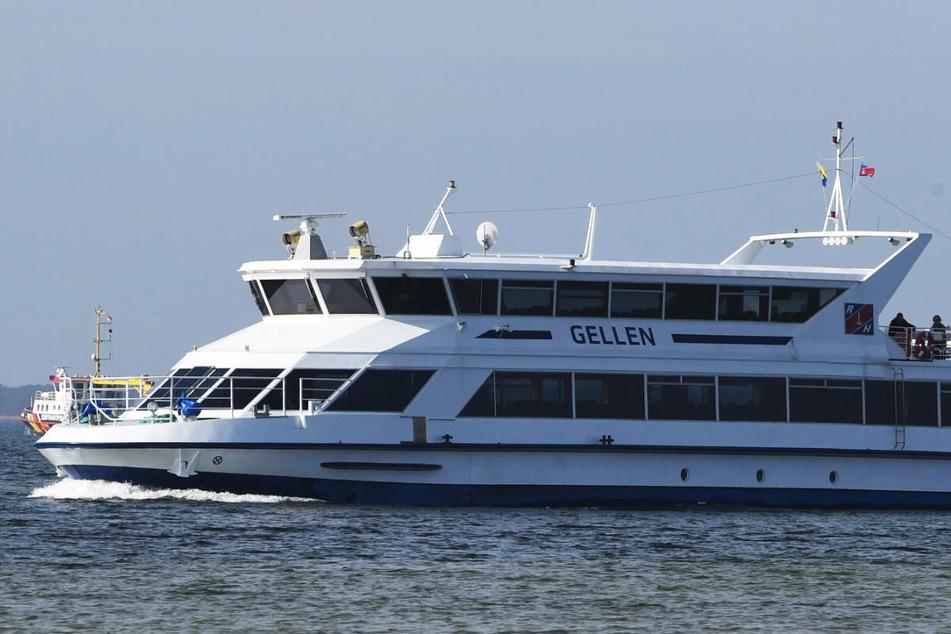 """Das Fahrgastschiff """"Gellen"""" ist im Hafen von Stralsund mit dem Fischkutter """"Anja"""" kollidiert. (Archivfoto)"""