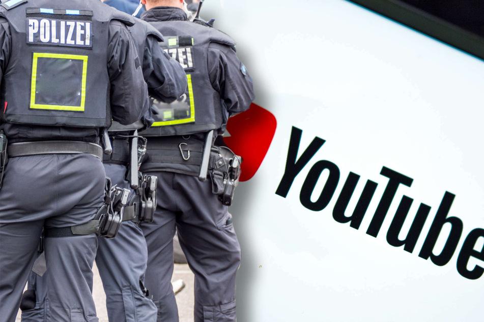 YouTuber stellte Polizei-Einsätze ins Netz: Jetzt könnte er vielleicht sogar ins Kittchen wandern!