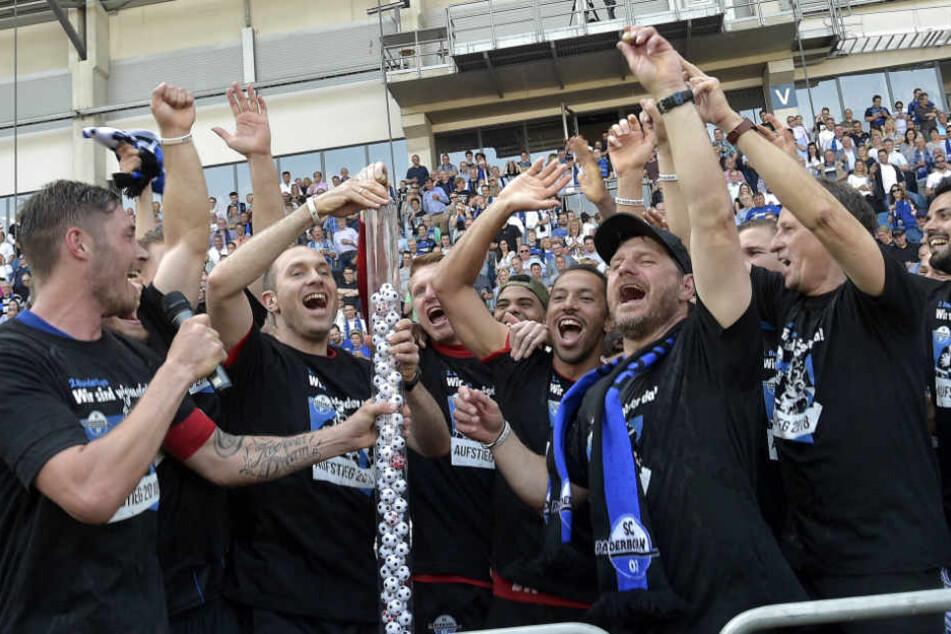 Auch am Samstag will der SCP nach dem Spiel gegen Köln groß den Aufstieg feiern.