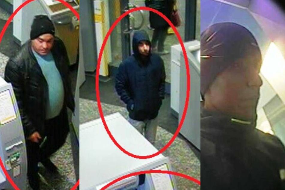 Polizei jagt Betrüger: Wer kennt diese Männer?