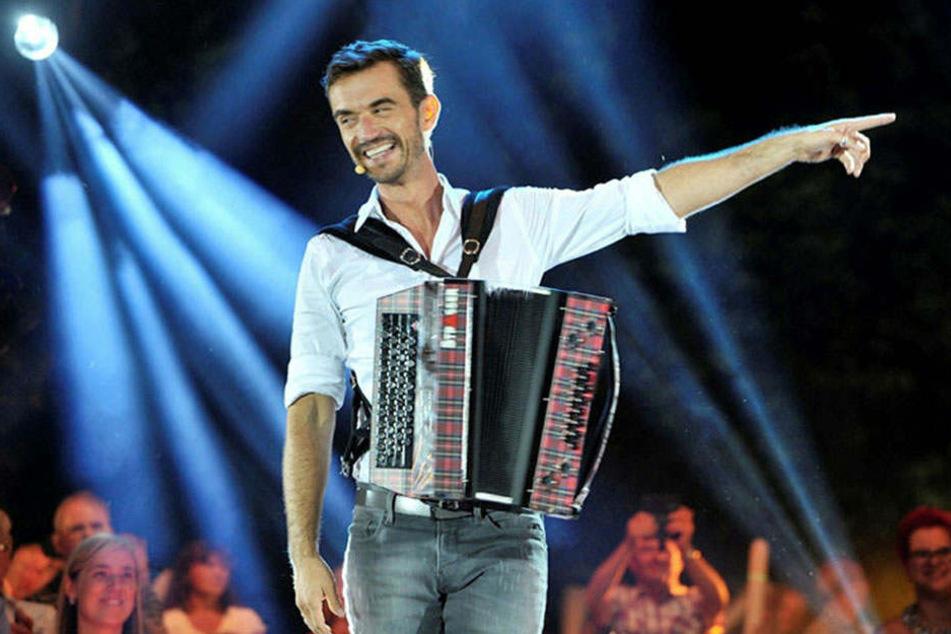 Er ist das Gesicht der Show: Florian Silbereisen (36) moderiert die MDR-Show zum Festival auch in diesem Sommer.