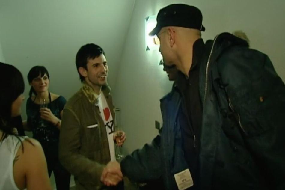 """In der DMax-Sendung """"Der Checker"""" trat er 2007 als selbst ernannter """"Partykönig"""" auf."""