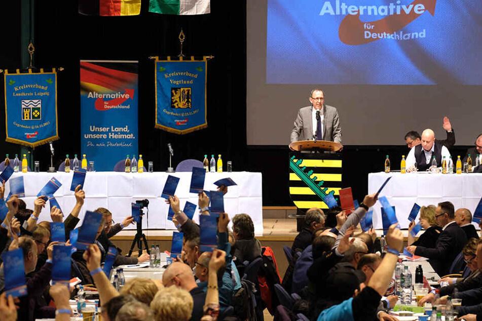 """AfD-Parteitag im Vogtland: """"Beim Ton haben wir noch Nachbesserungsbedarf!"""""""