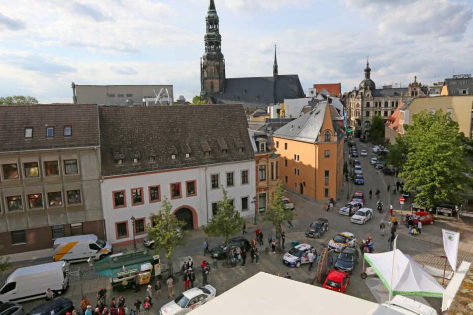 Die Sachsen-Rallye ist momentan unterbrochen (Archivbild)