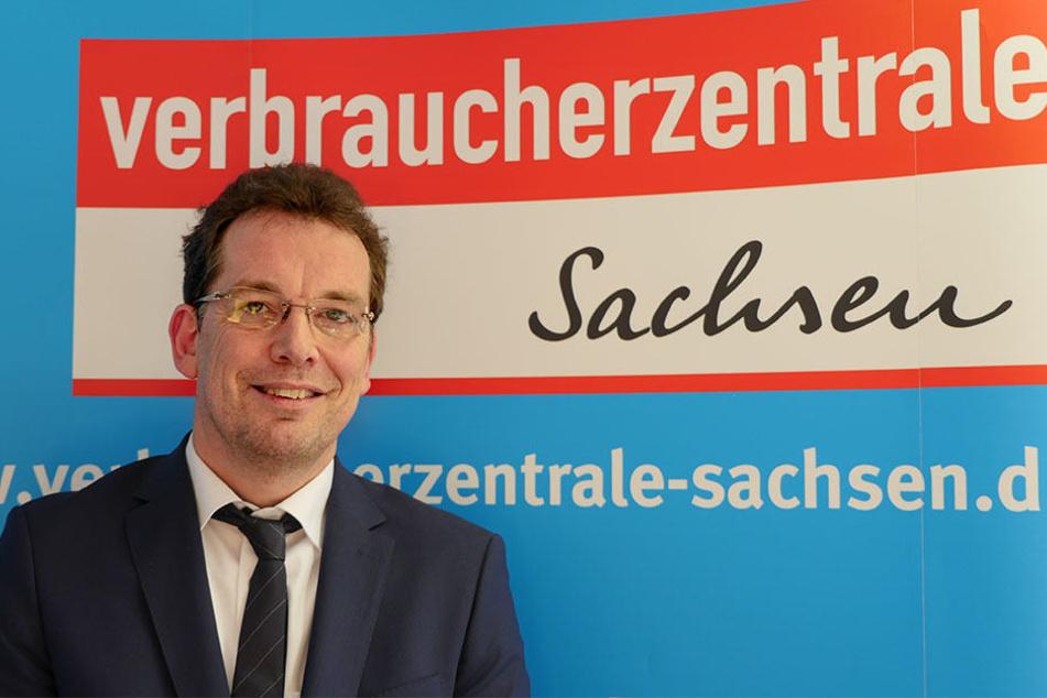 Verbraucherzentrale-Chef Andreas Eichhorst - sein Team beriet in den letzten Monaten über 500 gekündigte Sparer.