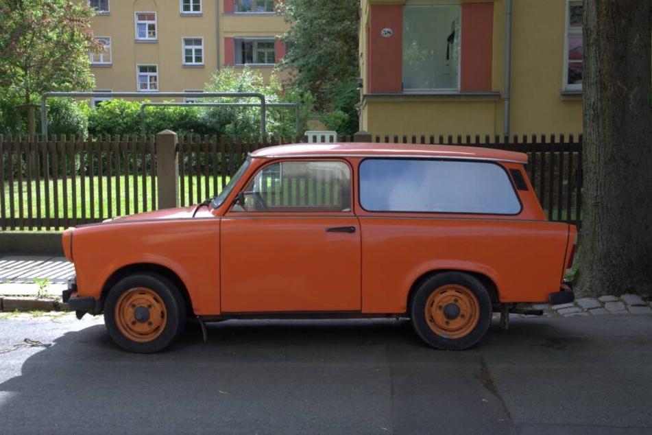 In Plauen wurde ein orangefarbener Trabant geklaut. (Symbolbild)