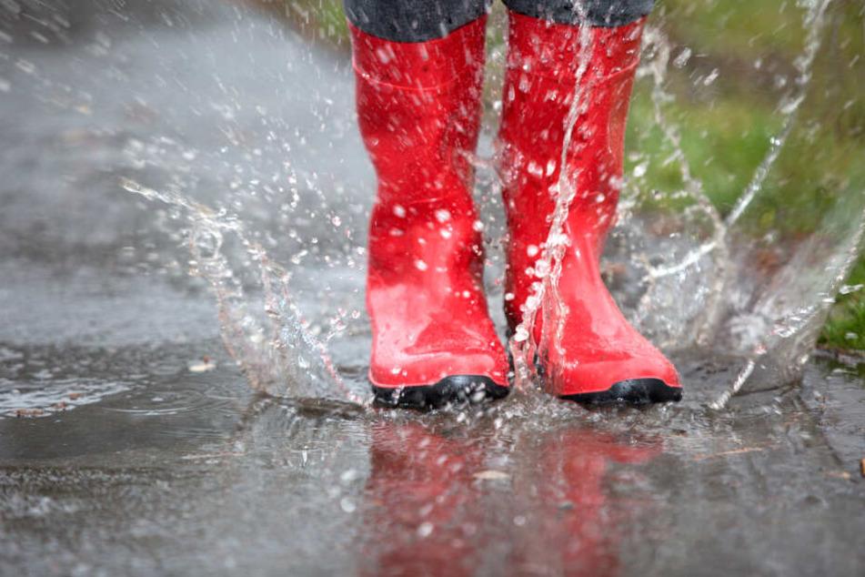 Nach der Hitze folgt so mancherorts der Regen.
