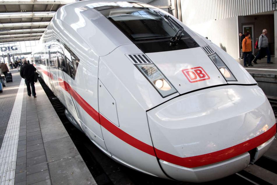 Ein ICE der Deutschen Bahn. (Symbolbild)