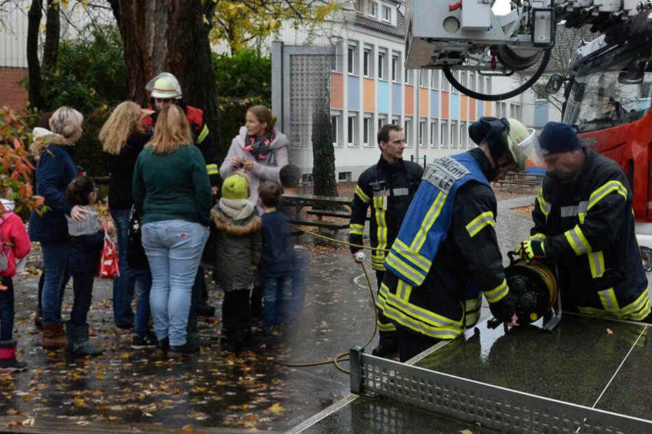 Keine Feuer-Übung! 340 Kinder aus Schule evakuiert