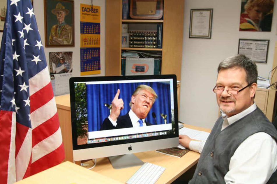Stefan Prystawik lebt in Deutschland und ist trotzdem Mitglieder der Republikanischen Partei.