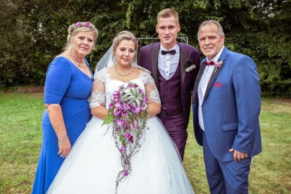 Wollny-Hochzeit: Erste Bilder von Sarafina und Peter!