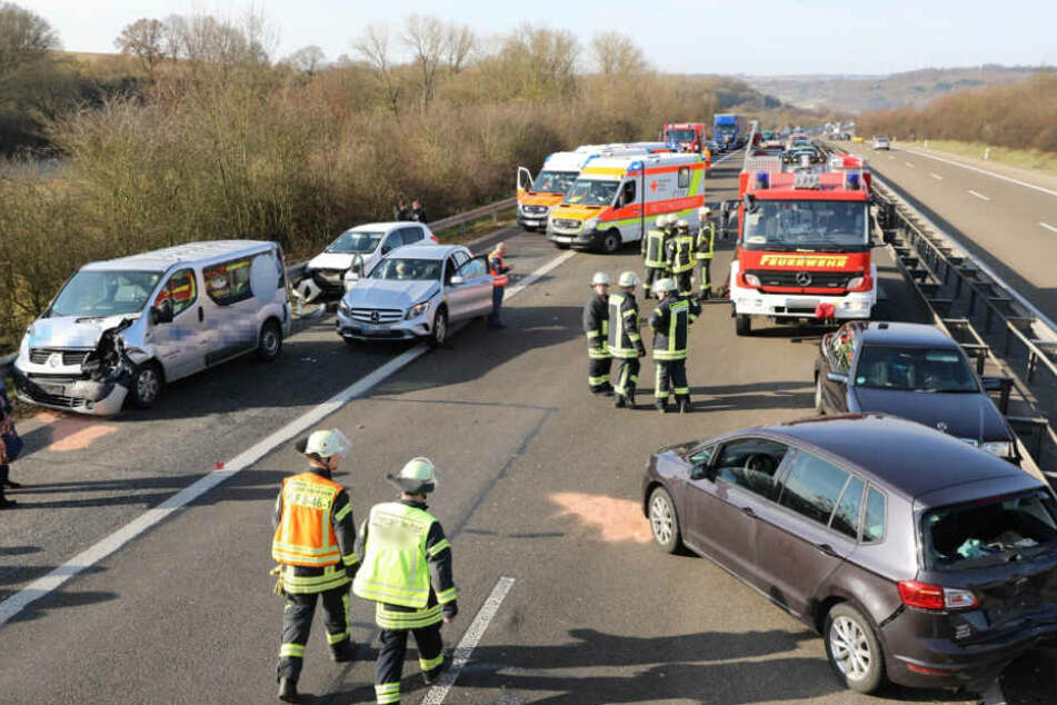 Auch fünf Handballspielerinnen waren unter den Unfallbeteiligten.
