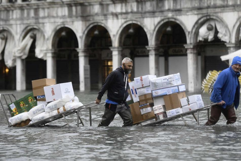 Venedig droht neue Flutwelle: Was muss die Unesco-Welterbestadt noch ertragen?