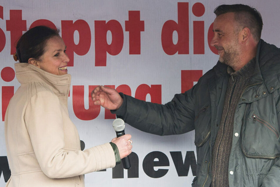 Eine Porno-Affäre ist der bisherige Tiefpunkt zwischen dem einstigen  PEGIDA-Duo Tatjana Festerling (52) und Lutz Bachmann (43).