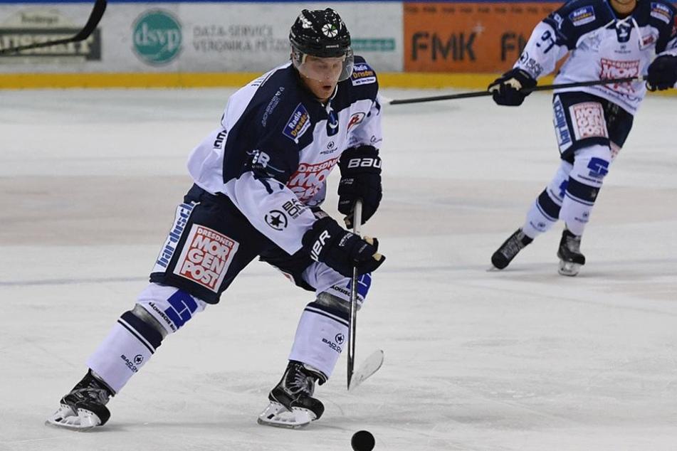 Martin Davidek traf gegen Bayreuth gleich drei Mal.