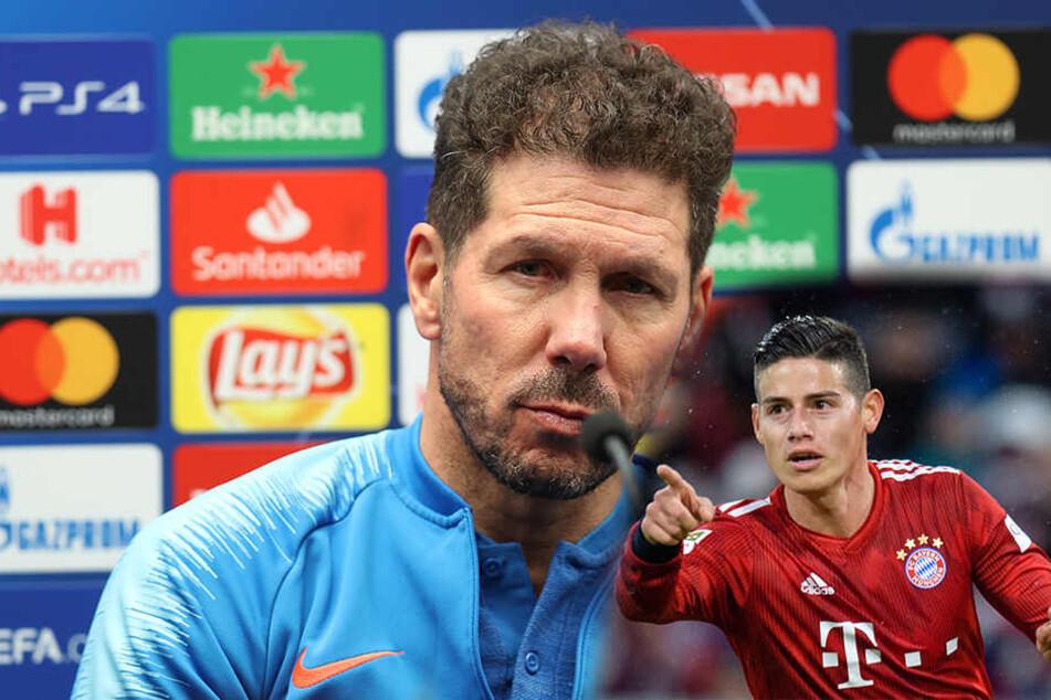 Irres Gerücht: Bleibt James in Madrid und wechselt zu Reals Lokalrivalen Atletico?
