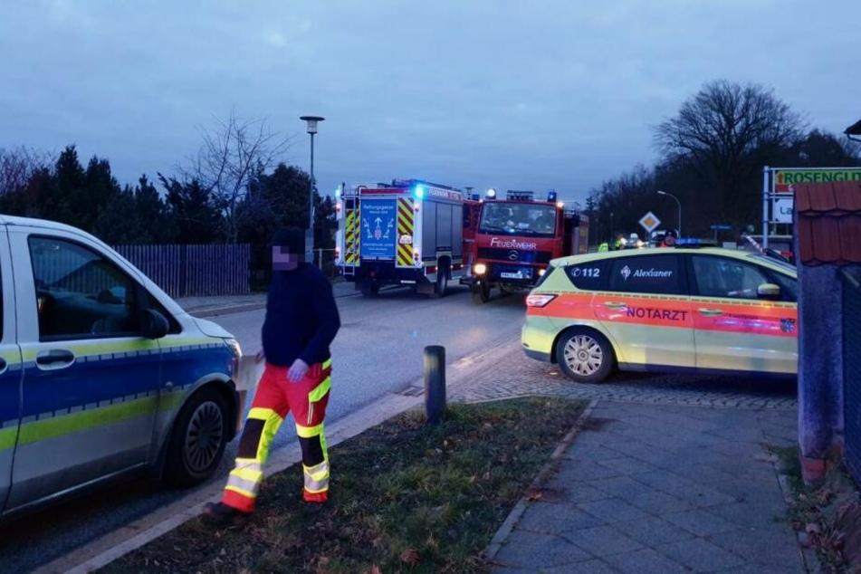 Bei einem Unfall im brandenburgischen Michendorf ist ein Mann ums Leben gekommen.