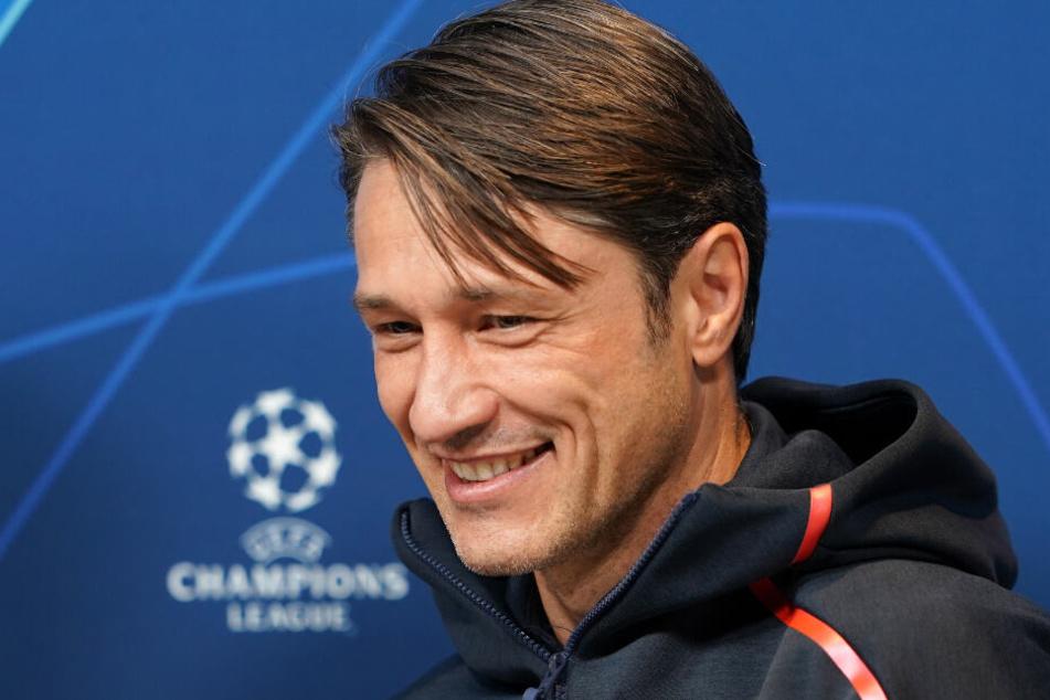Niko Kovac und der FC Bayern München müssen gegen Tottenham antreten.