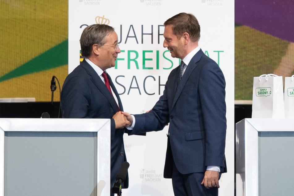 Natürlich unterstützt Kretschmer inzwischen den CDU-Kanzlerkandidaten Armin Laschet (60). Viele in der Sachsen-CDU hätten sich lieber Friedrich Merz (65) oder Markus Söder (54) gewünscht.