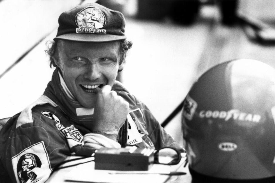 Als Rennfahrer war Lauda sehr erfolgreich.