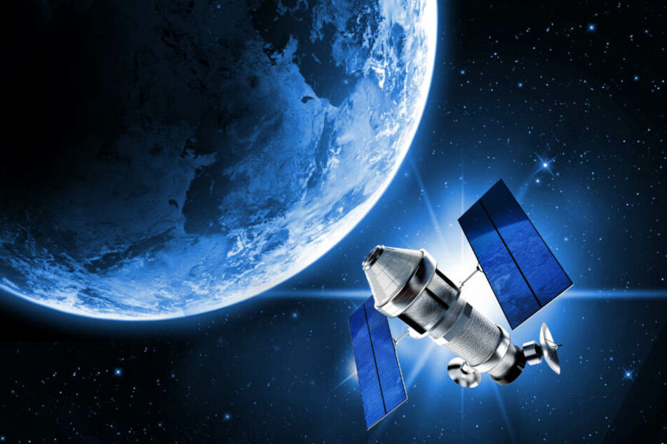 Inaktive Satelliten im Weltraum sind eine potentielle Gefahr! (Symbolbild)