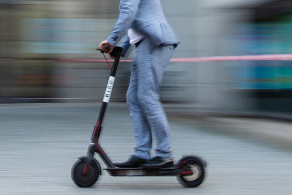 In Köln gab es bis zum 26. August 49 Unfälle mit E-Scootern (Symbolbild).