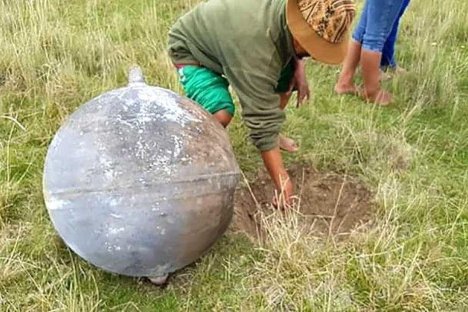 Dieses Objekt wurde von den Anwohnern gefunden.