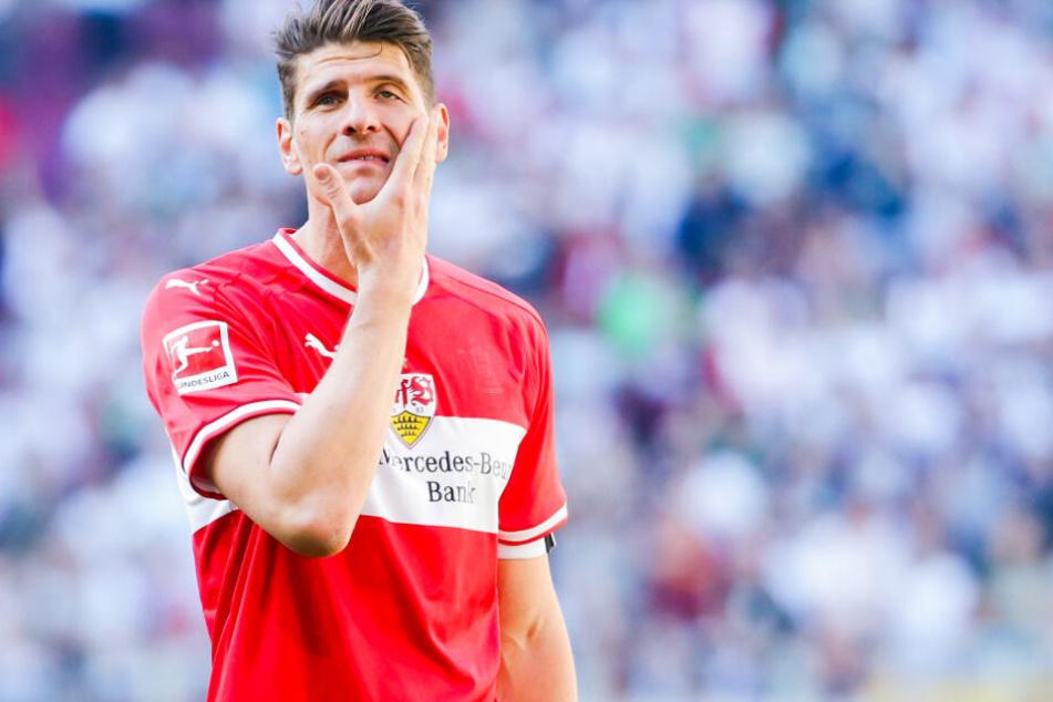 Er ist der Stürmerstar des VfB Stuttgart: Mario Gomez.