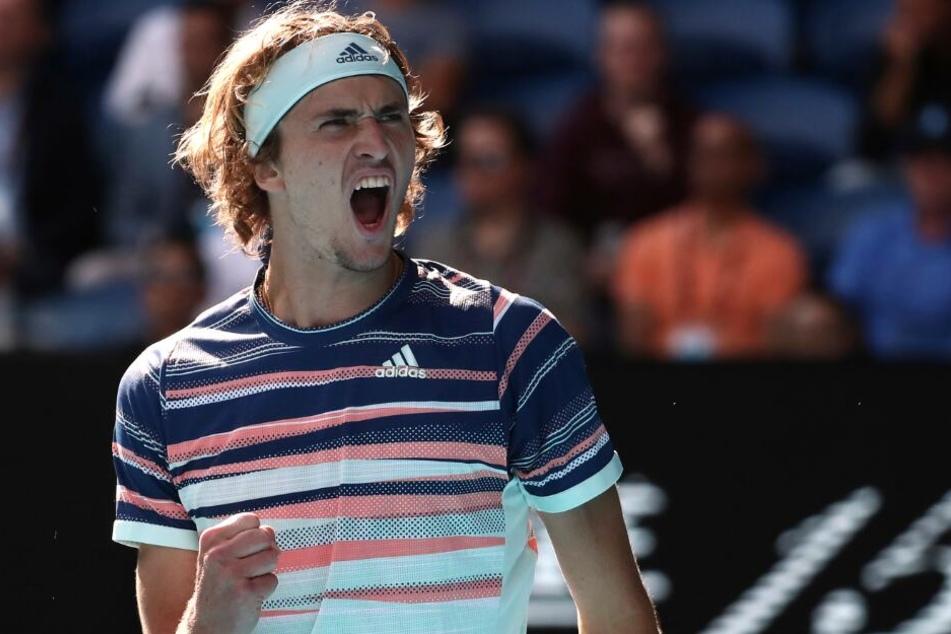 Mit Support von Freundin Brenda: Zverev kämpft sich in Australien in Runde 3