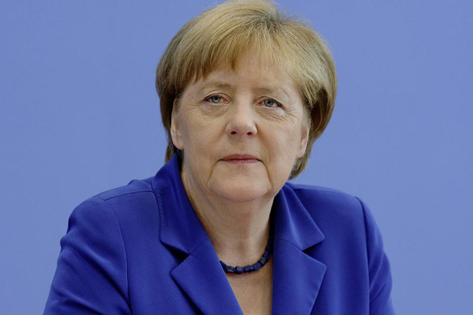 Angela Merkel macht eigentlich gerade Urlaub.