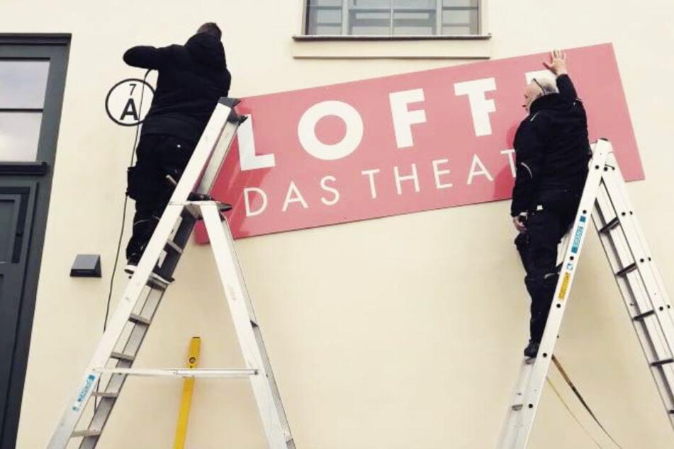 Neu-Eröffnung auf Festival in Leipziger Baumwollspinnerei