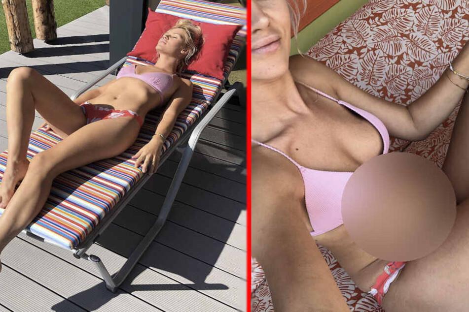 """""""Kaiserschmarrn-Body"""": Sara Kulka zeigt unvorteilhaftes Bauch-Pic"""