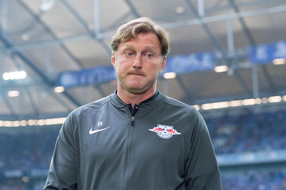 """""""Wir stellen uns auf die schwerst denkbare Aufgabe ein"""", sagte RB-Coach Ralph Hasenhüttl (50)"""